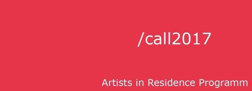 Ausschreibung Artist‐in‐Residence‐Programm 2017