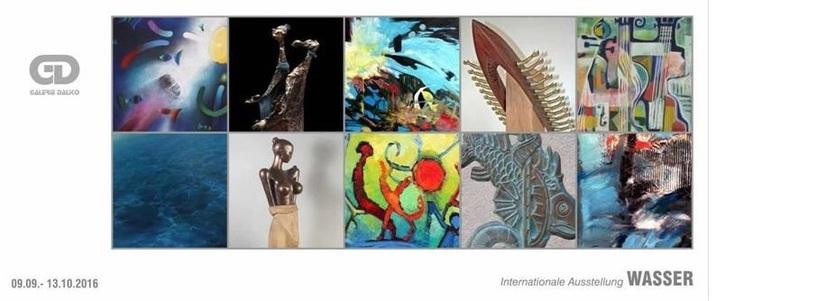 "Expoziţia ""Apa – Water"" la galeria Daliko din Krems"