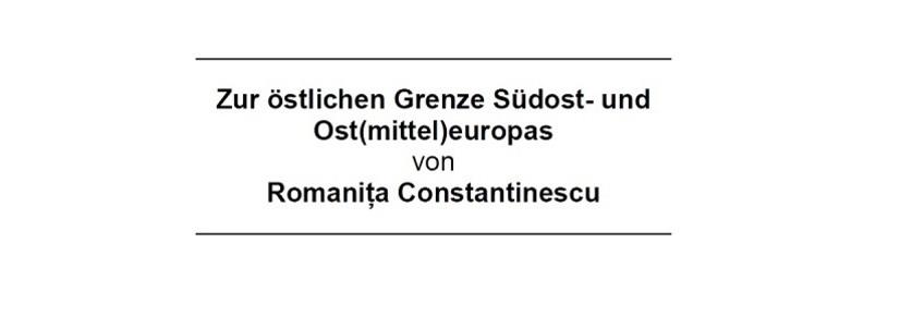 Conferinţă susţinută de Romaniţa Constantinescu la Universitatea din Viena