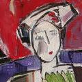 """Ausstellung """"Das Mädchen mit dem grünen Fächer  oder Die stumme Geschichte der Dinge"""" – Alma Redlinger in der RKI Wien Galerie"""