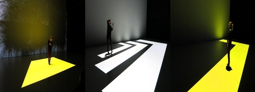 """Intermediale Tanzperformance  """"Spaces Alive – Coloured Black Holes""""  @tanzhafenFESTIVAL Linz"""