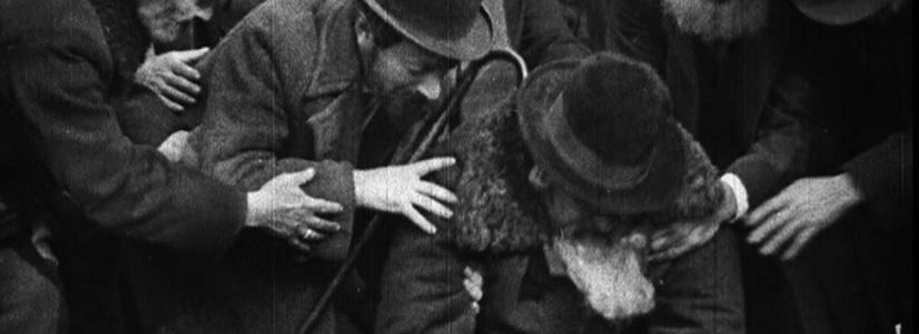 """Proiecţia filmului """"Manasse"""" la cinematograful Breitenseer Lichtspiele din Viena"""