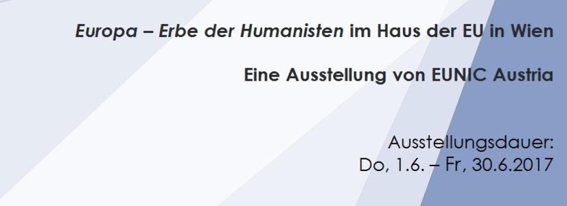 """""""Europa ‒ moştenirea umaniştilor"""" la Casa Uniunii Europene de la Viena"""