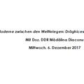 """""""Tradiție și modernitate în perioada interbelică: Drăghicescu, Rădulescu-Motru, Cioran"""""""