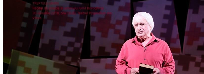 Tag der Vereinigung der Rumänischen Fürstentümer: Poesievortrag mit Emil Boroghină im Pygmalion Theater