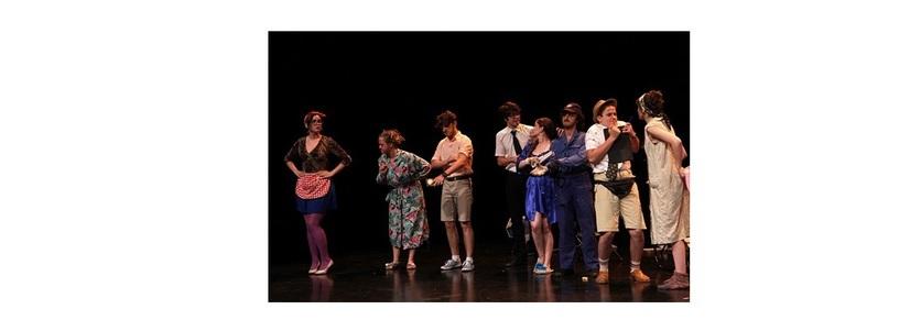"""Spectacolul """"Jim déplace les gravats"""" (""""Jim cară molozul"""")  la OFF Theater din Viena"""