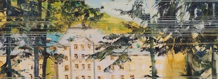 """Die Ausstellung """"Landscape Reset"""" von Cristina Coza-Damian in der FIVE PLUS Art Gallery"""