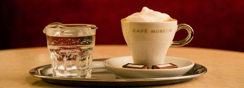 Tag des Kaffees im Café Museum