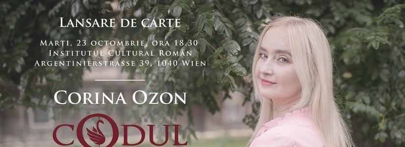 """Prezentarea volumului """"Codul lui Zoran"""" semnat de Corina Ozon"""