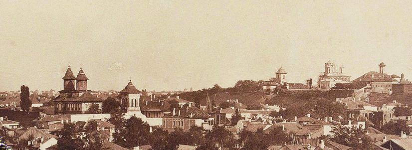 """Expoziţia """"Ludwig Angerer - revisited. Un vienez la Bucureşti 1853-1856"""" la Galeria ICR Viena"""