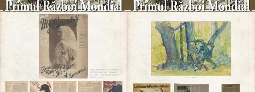 """Expoziția """"Scriitori români în Primul Război Mondial"""" la sediul ICR Viena"""