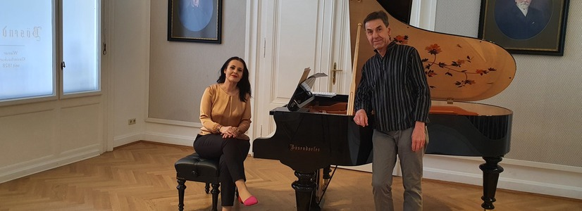Un nou proiect vienez: Enescu și Silvestri, omagiați de pianista Raluca Știrbăț şi violoncelistul Rudolf Leopold