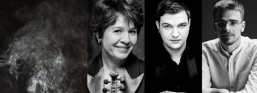 Klaviertrio Nr. 1 in g-Moll (1897) von George Enescu.  Onlinekonzert mit Mihaela Martin, Andrei Ioniță und Andrei Gologan