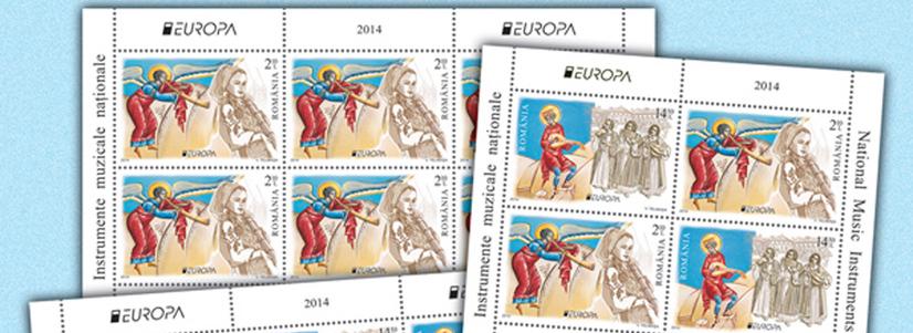 Competiţia europeană – Europa Stamp Design 2014