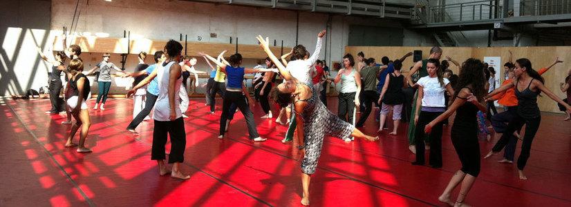 Larisa Crunţeanu, Simona Deaconescu und Judith State @ danceWEB 2014